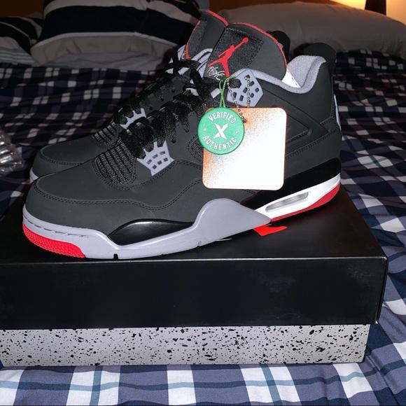 Nike Shoes | Jordan 4 Bred 29 | Poshmark